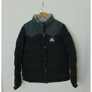 NEW Patagonia Large Duck Down Puffer Jacket Black